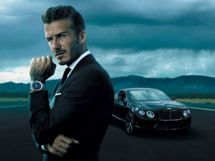 David Beckham, Breitling watches,