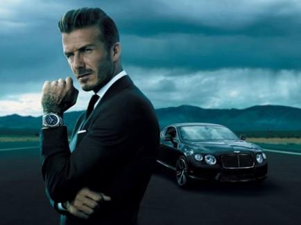 David Beckham, Breitling watches,