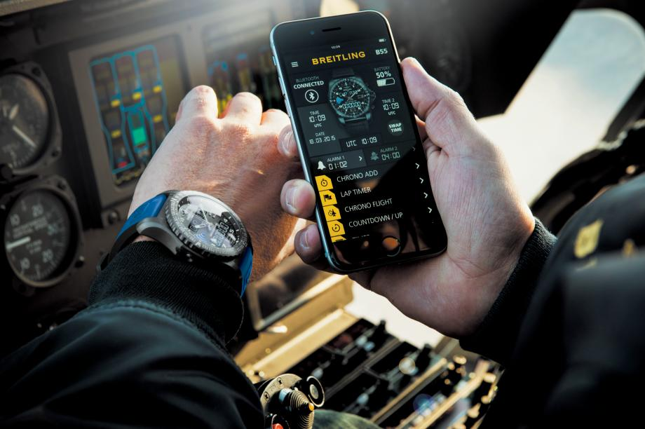 Breitling B55 Connected Soars Past Apple Watch?