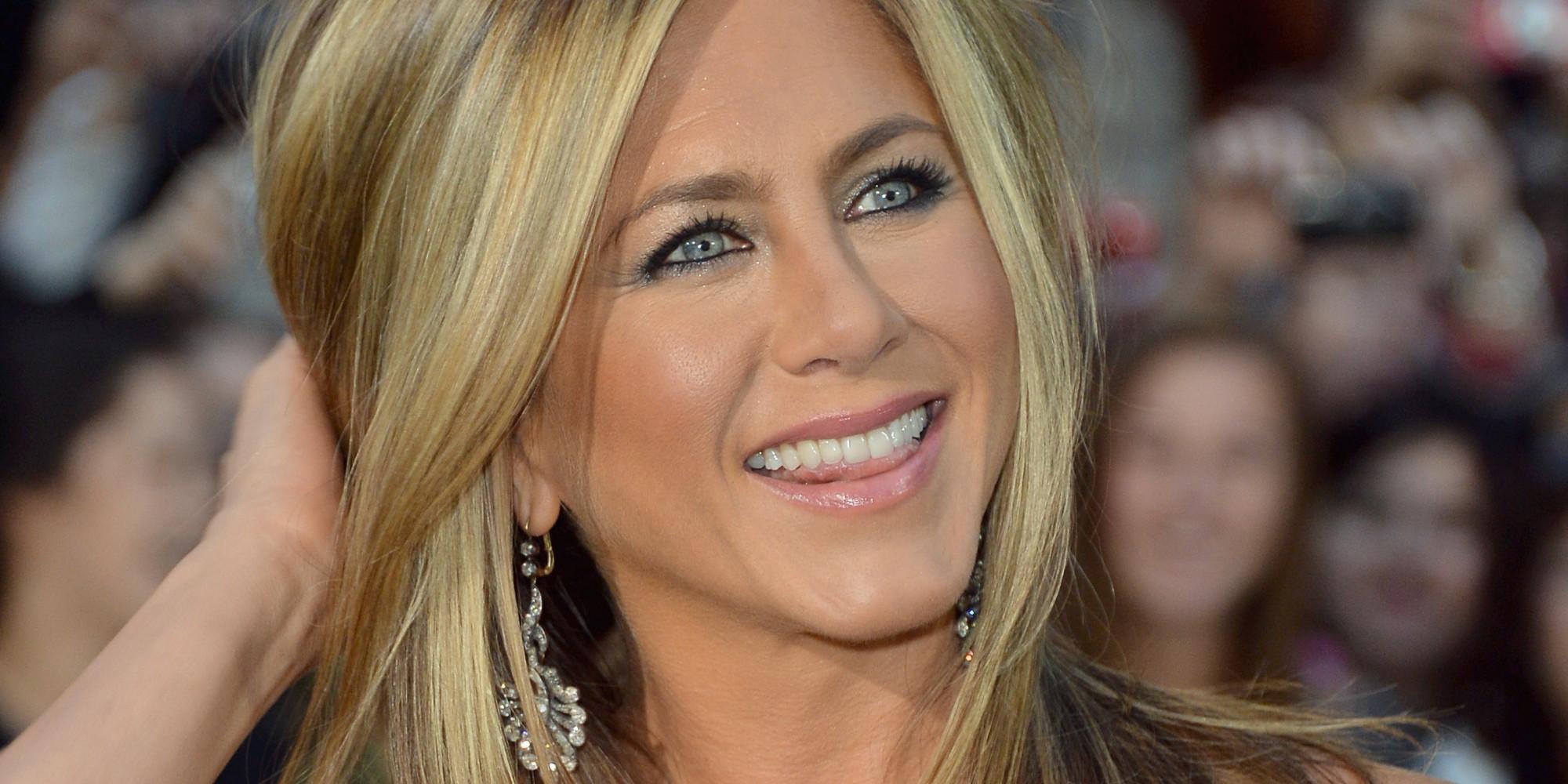 Rolex wearer Jennifer Aniston supports husband at Critics' Choice Awards