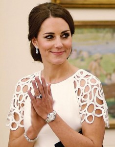kate middleton cartier watch demarco