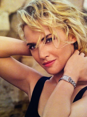 Longines supporting Kate Winslet foundation, Golden Hat.