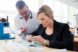 Kate Winslet Longines workbench
