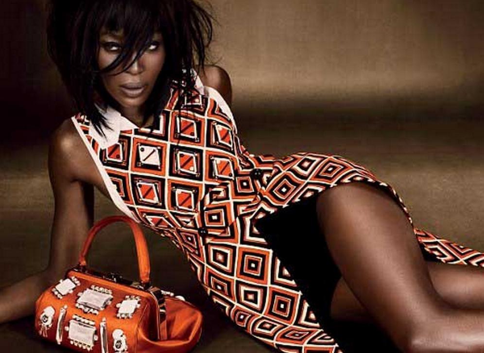 Naomi Campbell Luxury Bag Icon