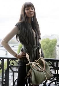 Naomi Campbell Louise Vuitton