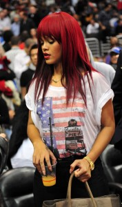 Rihanna Gold Rolex Photo