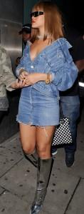 Rihanna Rolex London