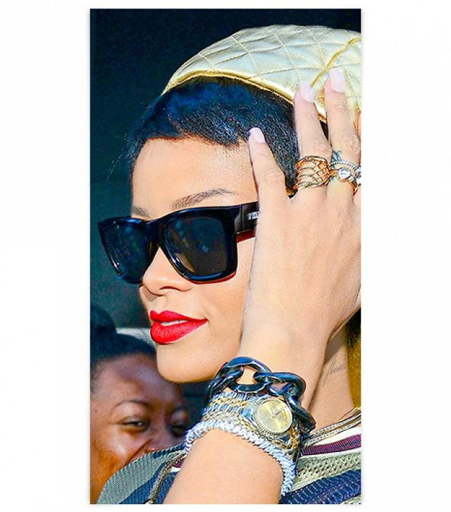 Rihanna Rolex Date in London