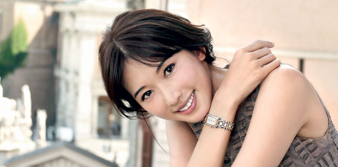 Longines Ambassador Chi Ling Lin, Elegance Personified