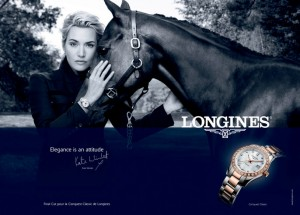 kate winslet longines ad