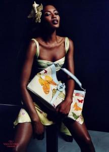Naomi Campbell by Mario Testino for Valentino 2004