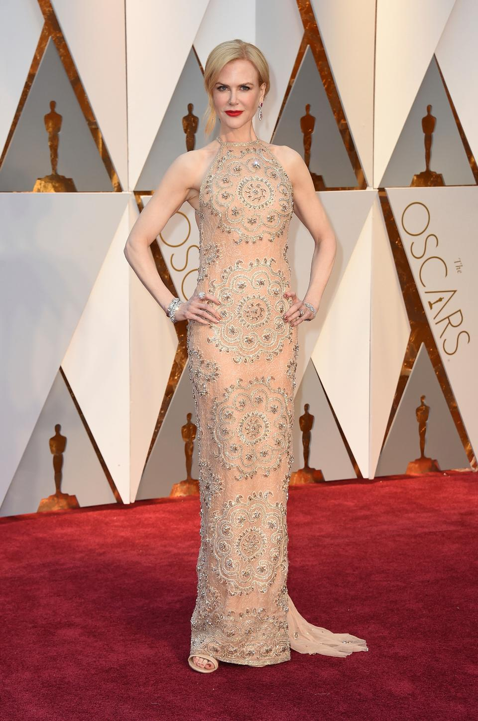 Nicole Kidman Steals the Oscars 2017 Best Watch with Secret Vintage Omega