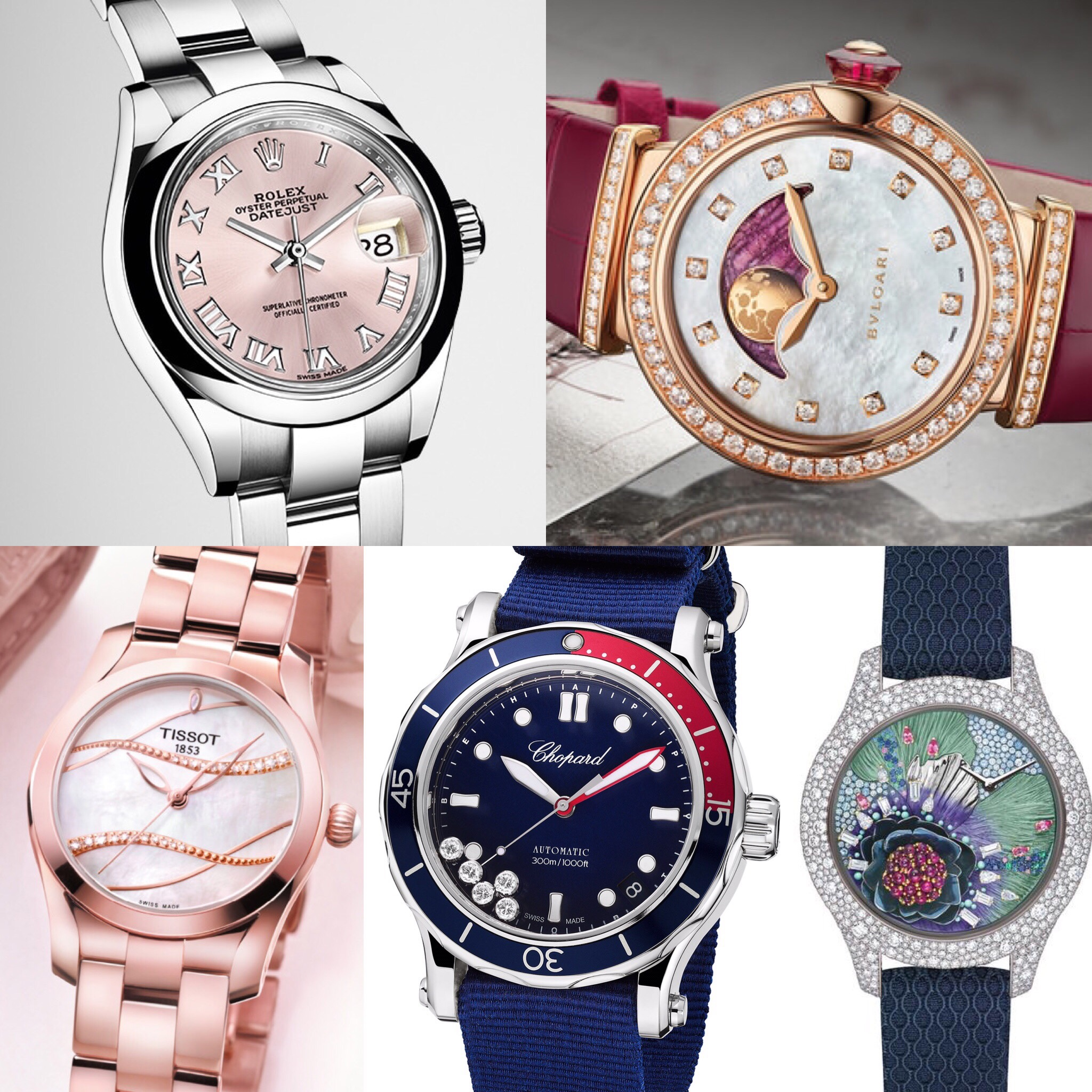 BaselWorld ladies watches 2017