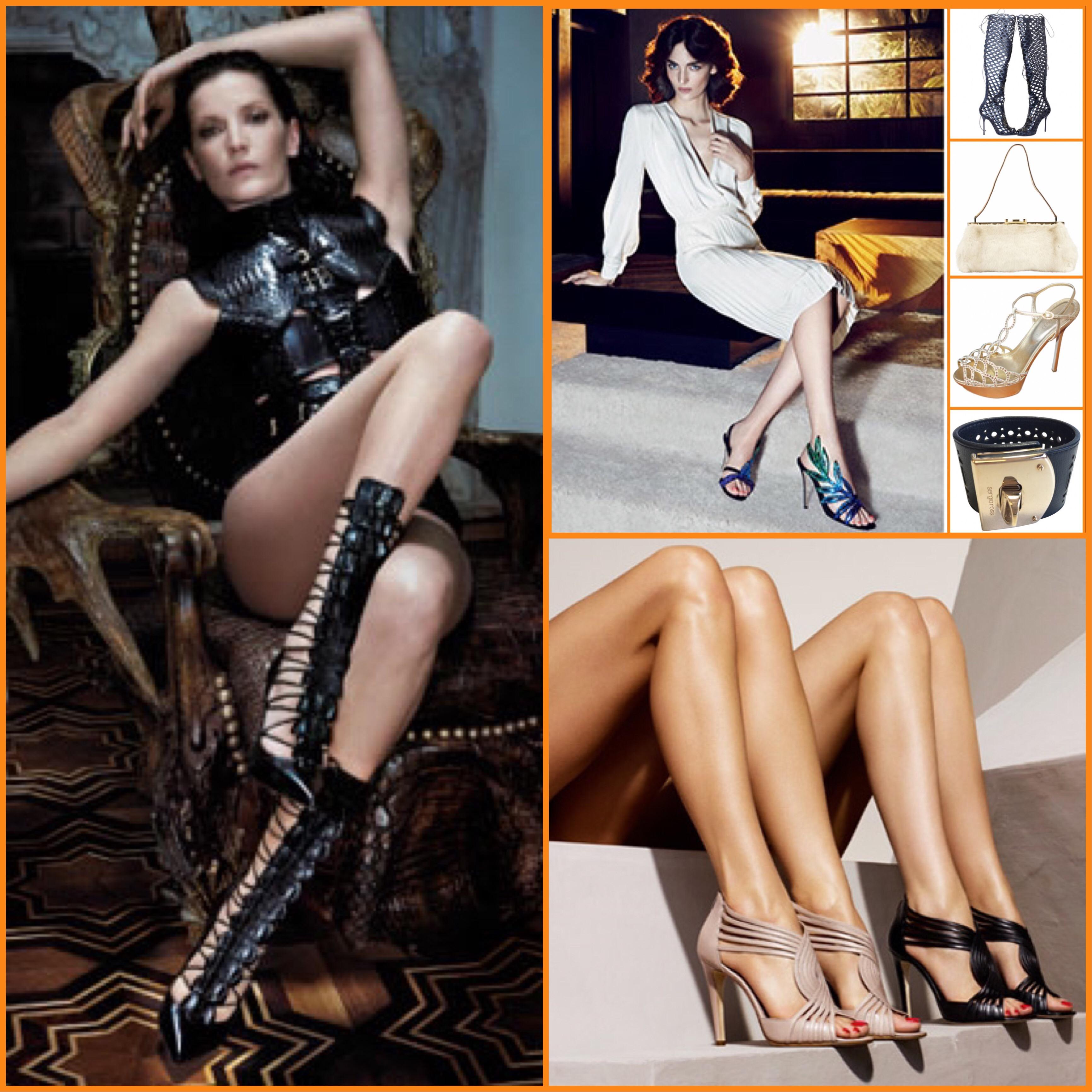 Sergio Rossi iconic Italian Luxury Shoes