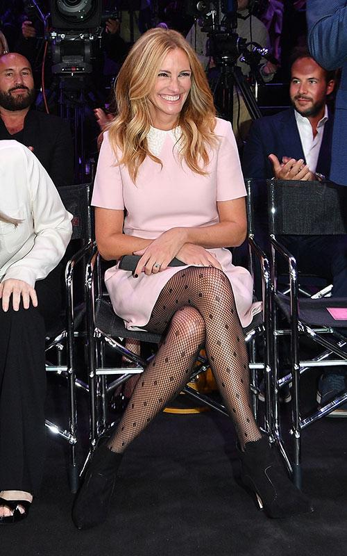 Julia Roberts loves Annesha Black Suede Ankle Boots