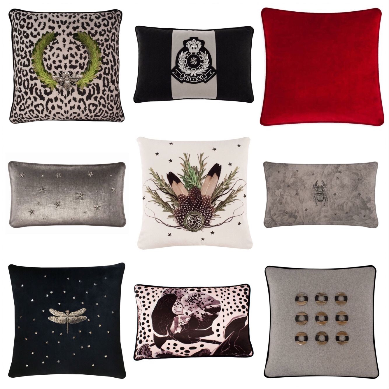 Unique Luxury Throw Pillows from Muir Mont