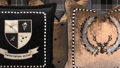 Muir Mont – the new name in Luxury Cushions