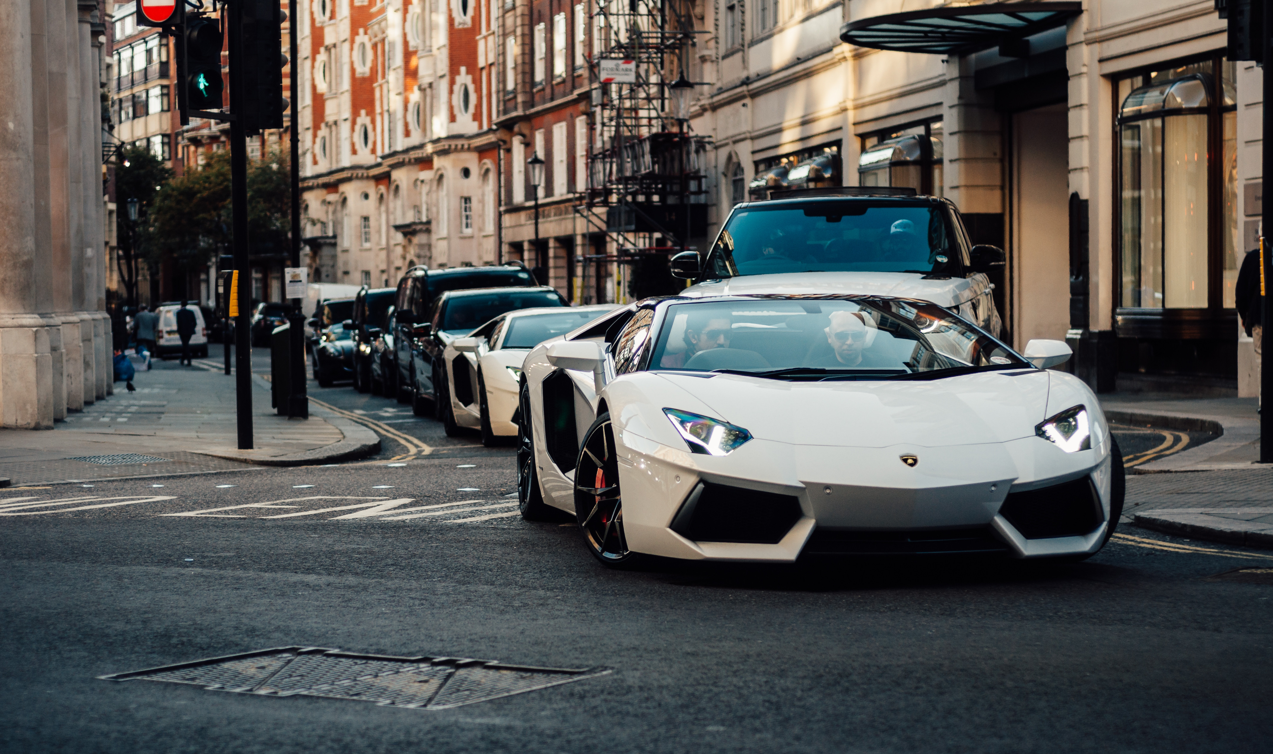 Luxury experience super cars