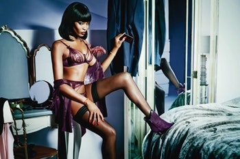Agent Provocateur Naomi Campbell