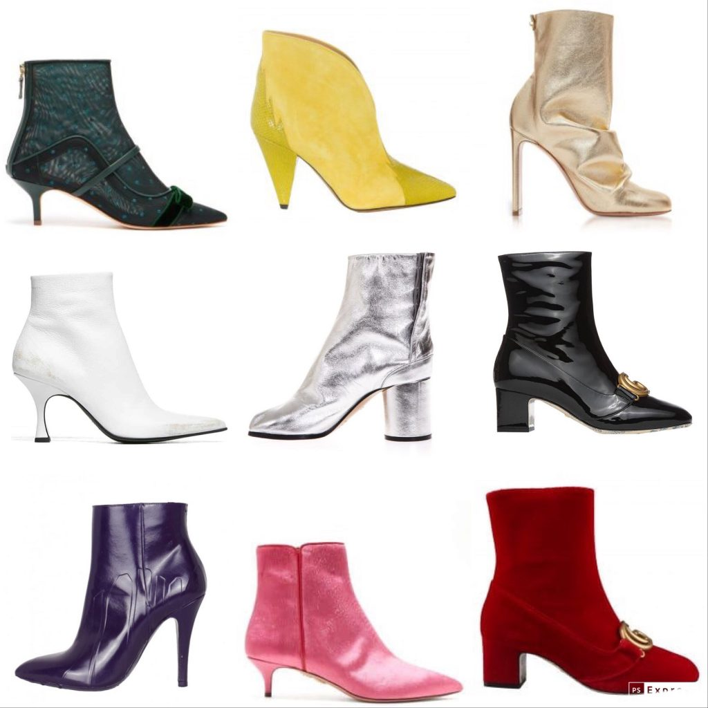 Ankle Boot Colours