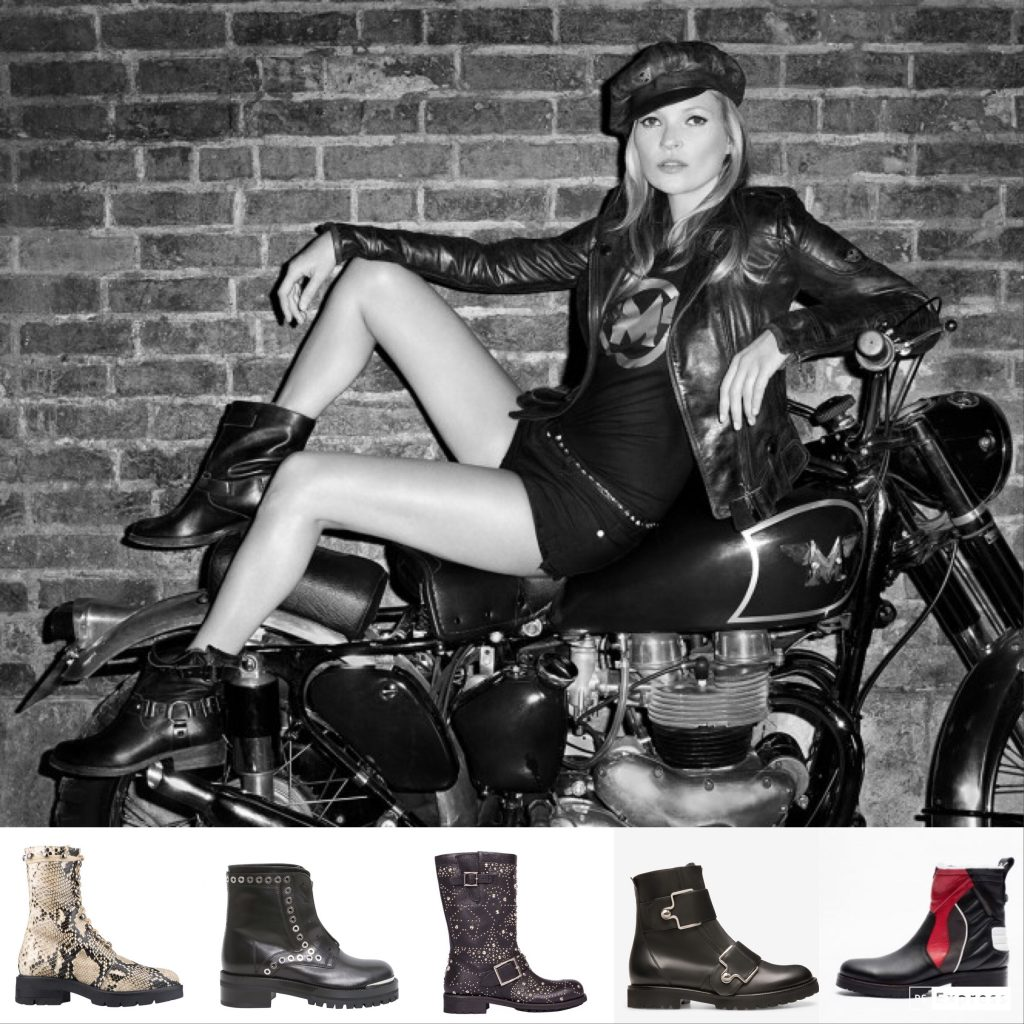Biker Boot Guide Kate Moss