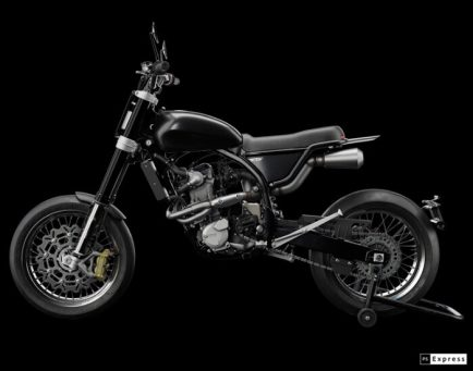 LM-S Custom Motorcycle from DAB Motors