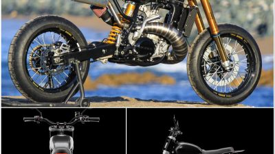 Ride the Custom Motorcyling Luxury of DAB Motors LM-S