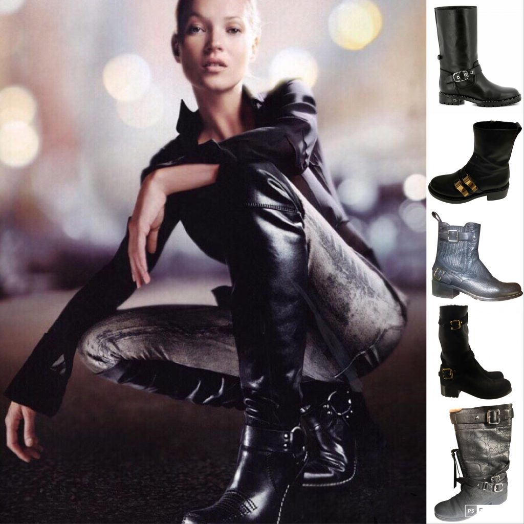 Biker Boot Christian Dior Kate Moss