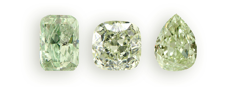 Green Diamonds from Asteria Diamonds