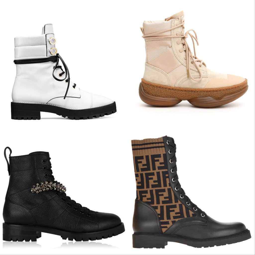 Designer Combat Boot Styles