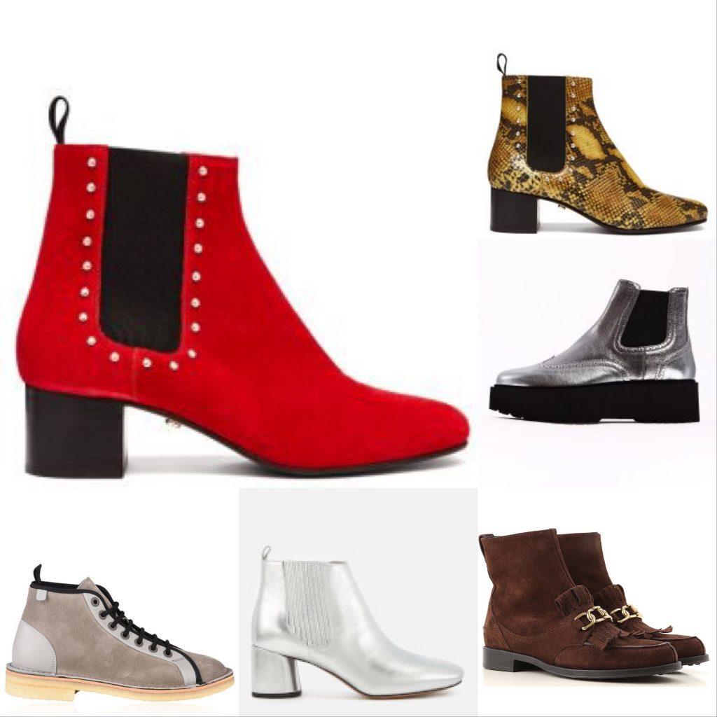Chelsea Boot Colours