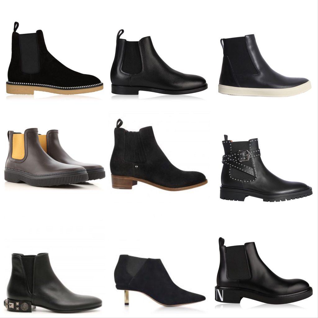 Black  luxury Chelsea boots