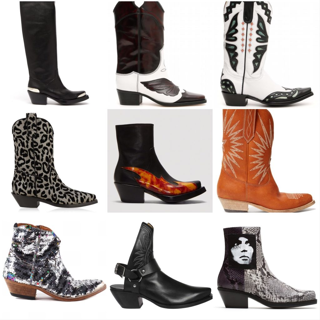 Cowboy boot styles