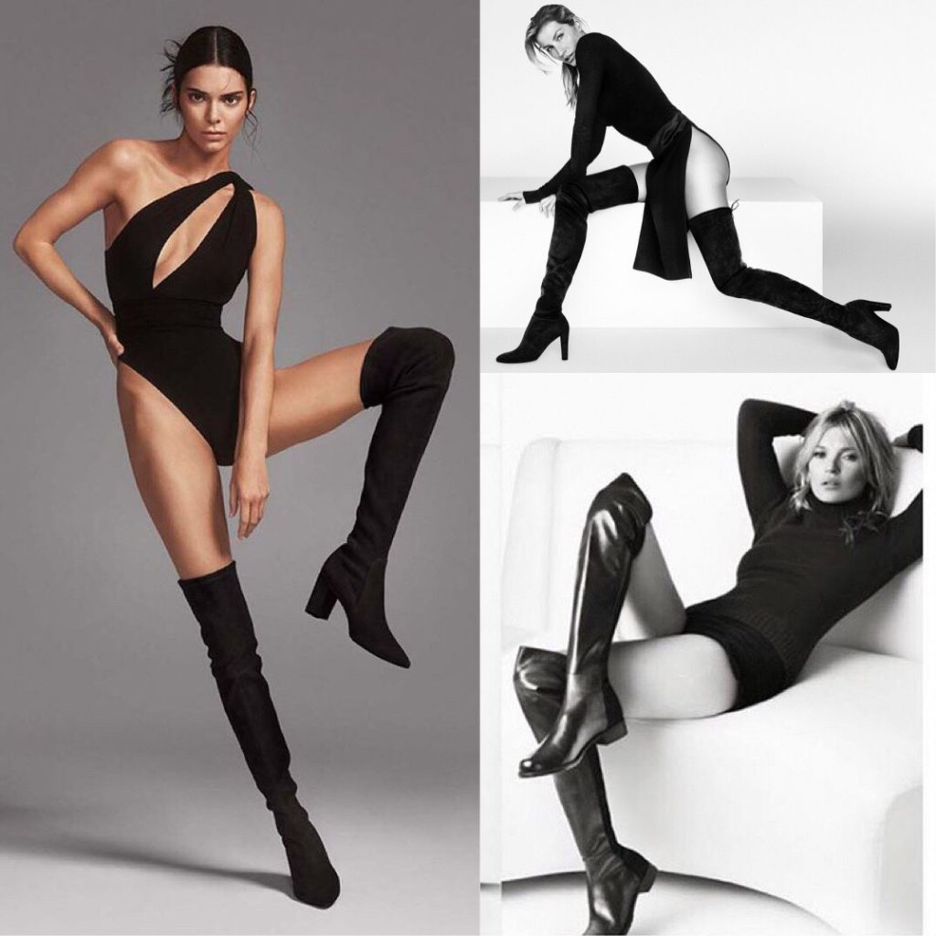 Kate Moss, Giselle and Kendall Jenner Stuart Weitzman Thigh High Boot
