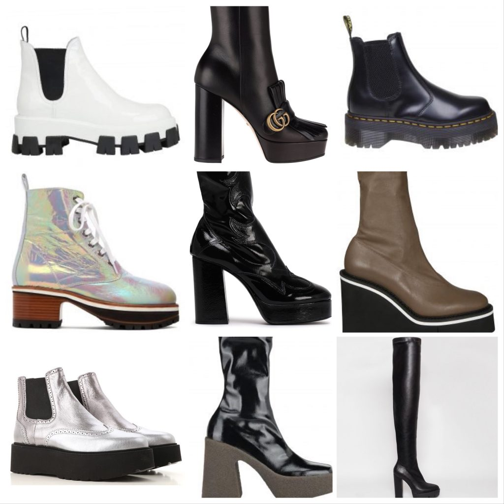 Platform Boot Styles