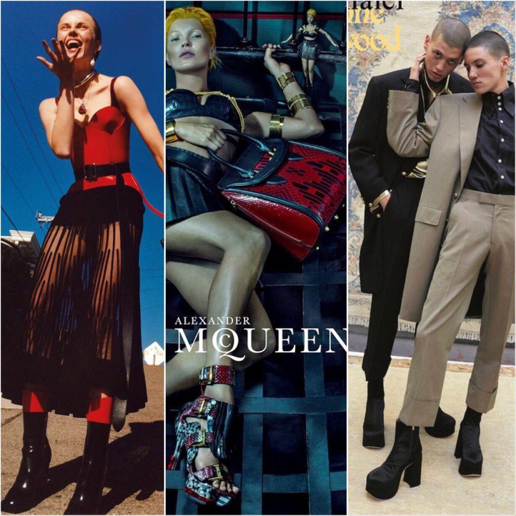 British Platform Boots Alexander McQueen Vivienne Westwood