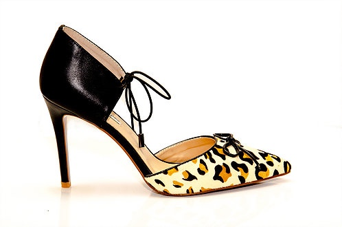 Eleonora Animalier Pumps from Fleur Kelinza