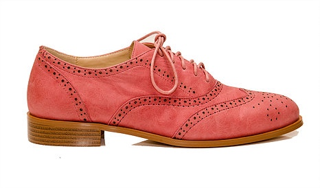 Valletta Coral Lace-up Brogues from Fleur Kelinza