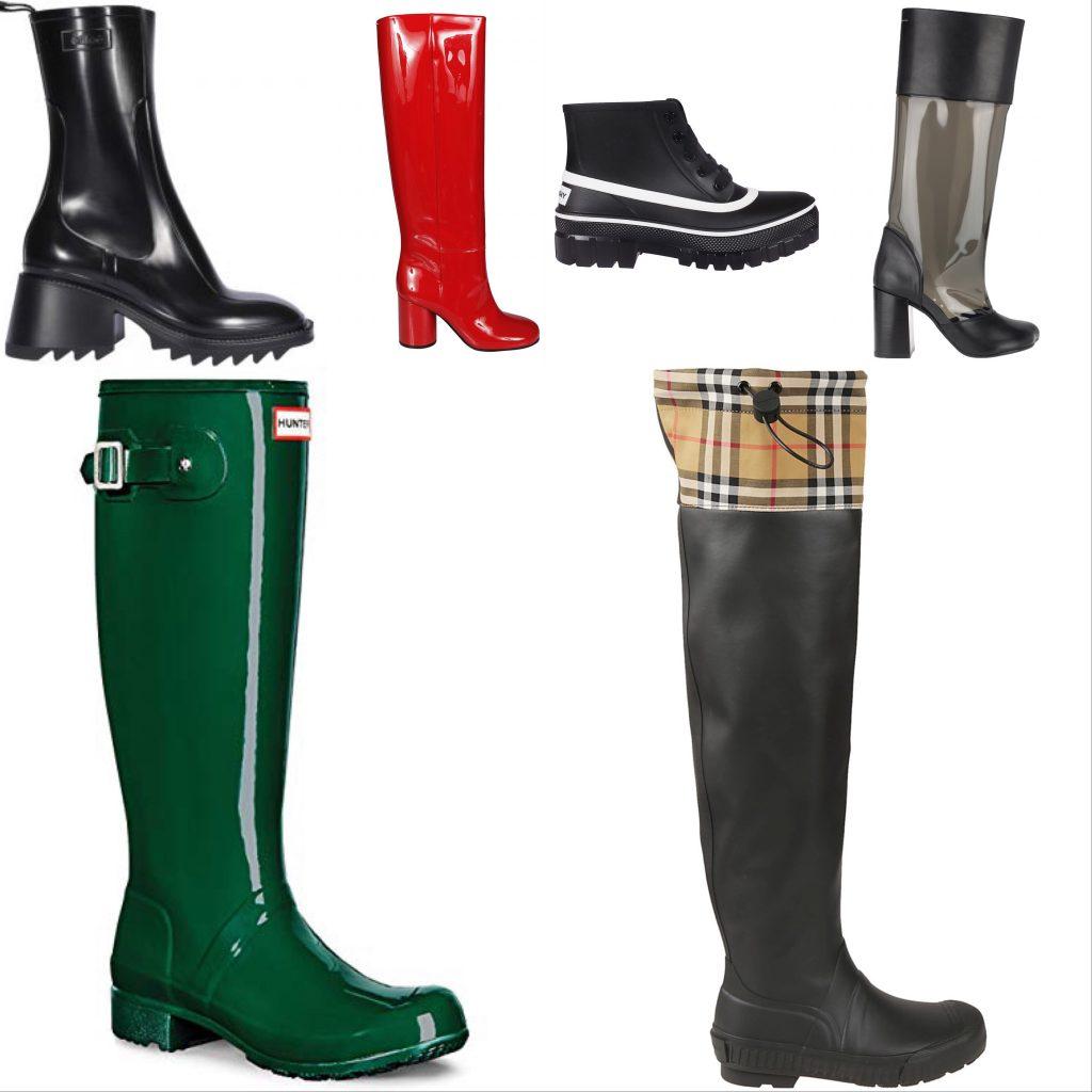 Luxury Rain Boots