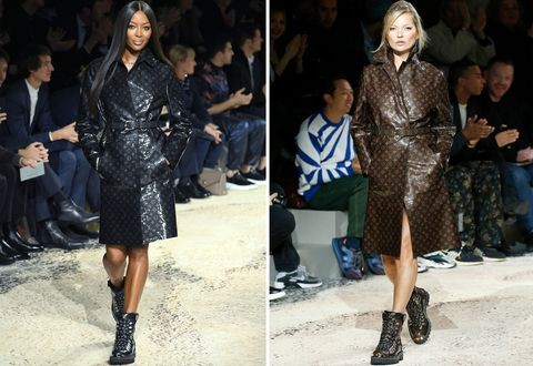 Louis Vuitton Hiking Boots Kate Moss Naomi Campbell