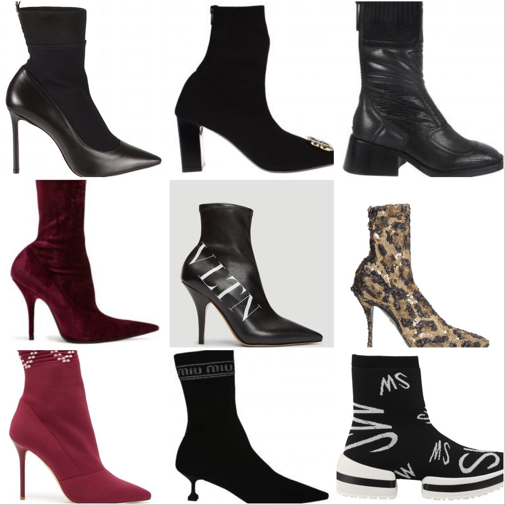 Sock Boot Ankle Styles