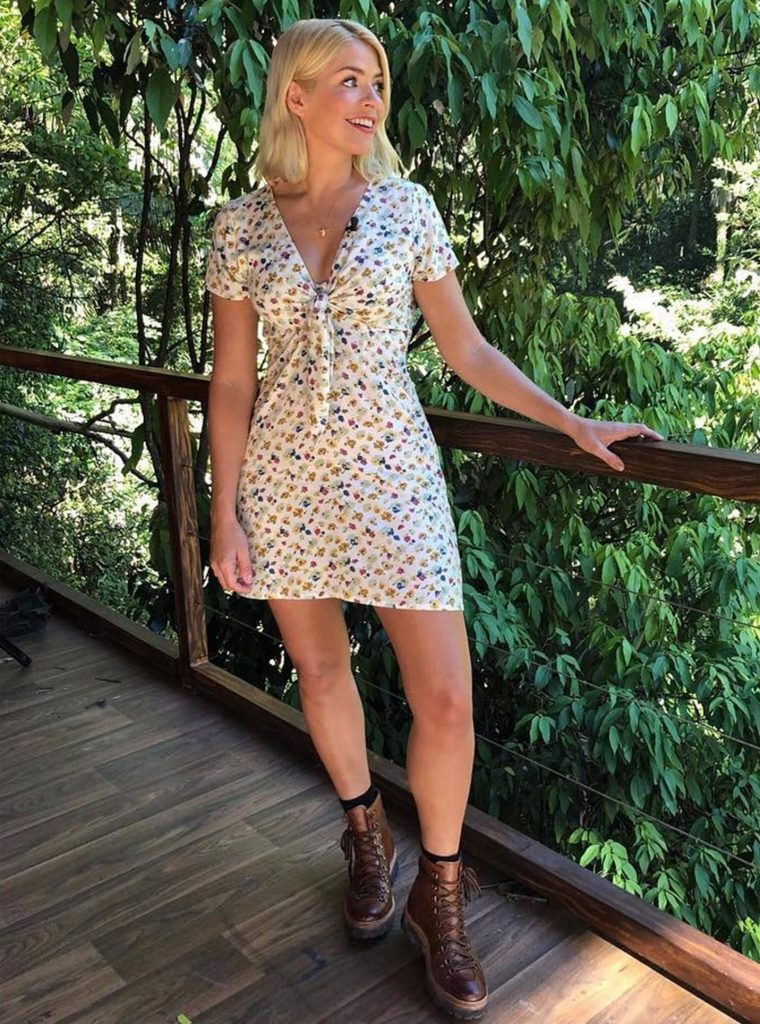 Holly Willoughby Grenson Hiking Boots