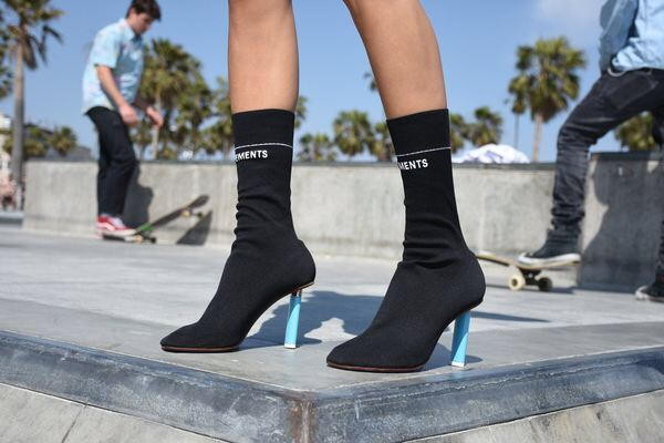 Vetements Sock Boots
