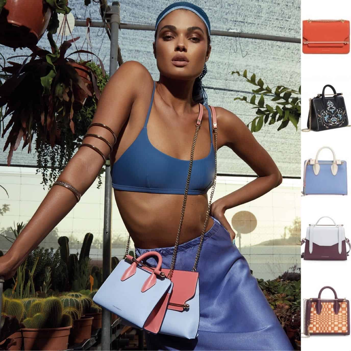 The Vibrant Colours of Strathberry Handbags