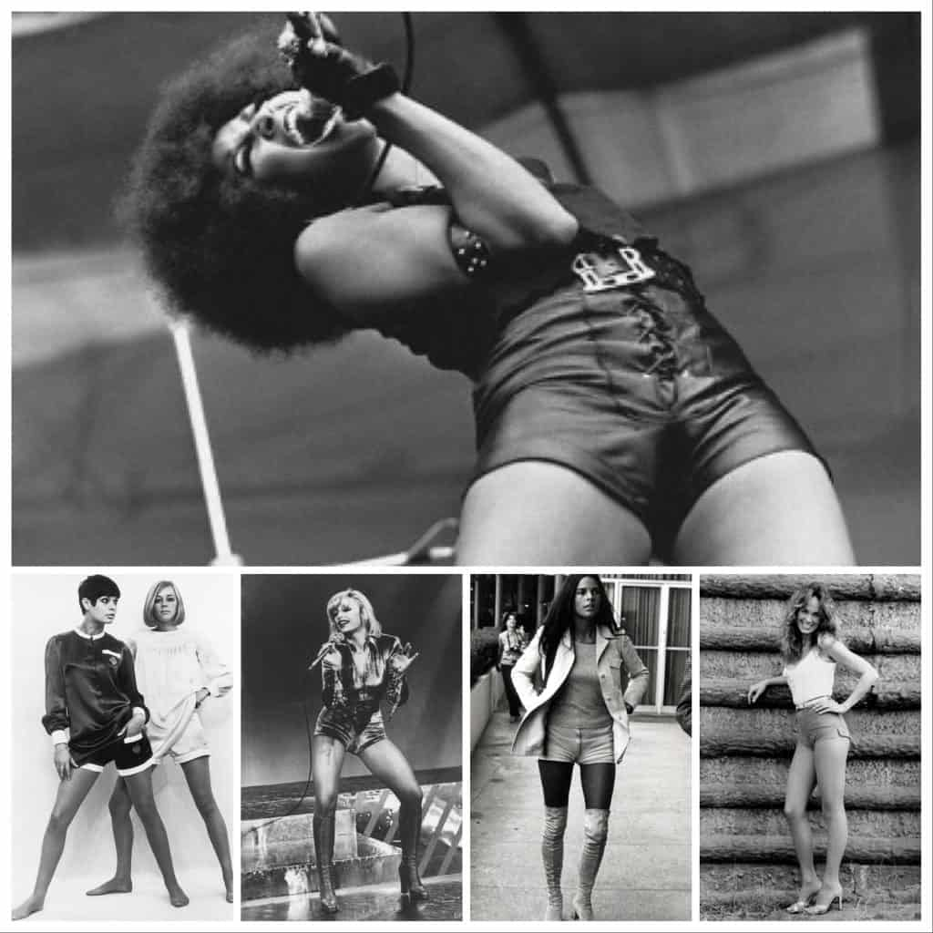 70s hot pants