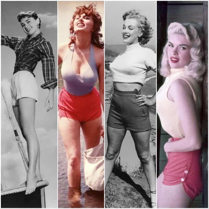 Hollywood shorts glamour -