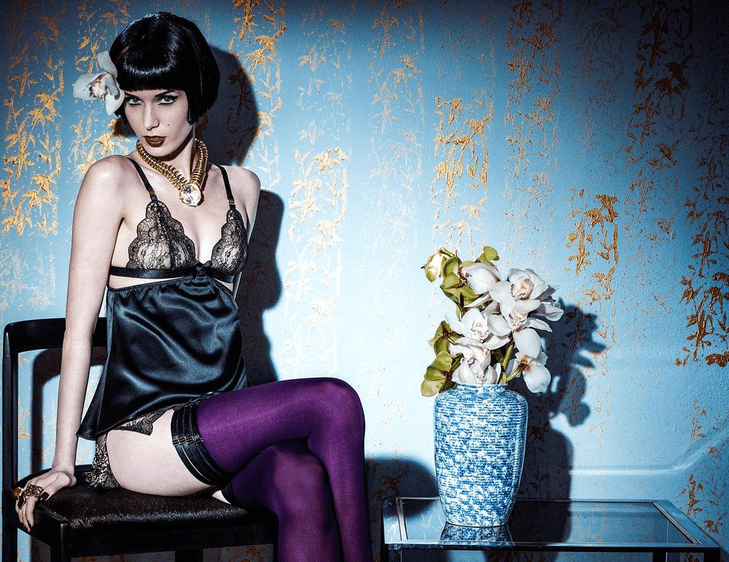 Bordelle lingerie Natalia Onofrei
